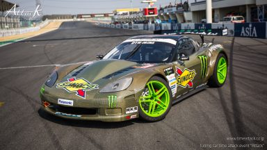 FAT FIVE RACING / SUNOCO MONSTER CORVETTE Z06 GT3