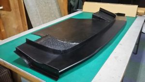 ドライカーボン製汎用アンダーパネル